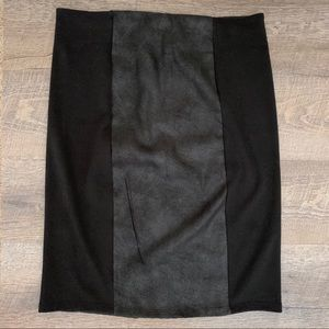 Xhilaration Two-tone Pencil Skirt